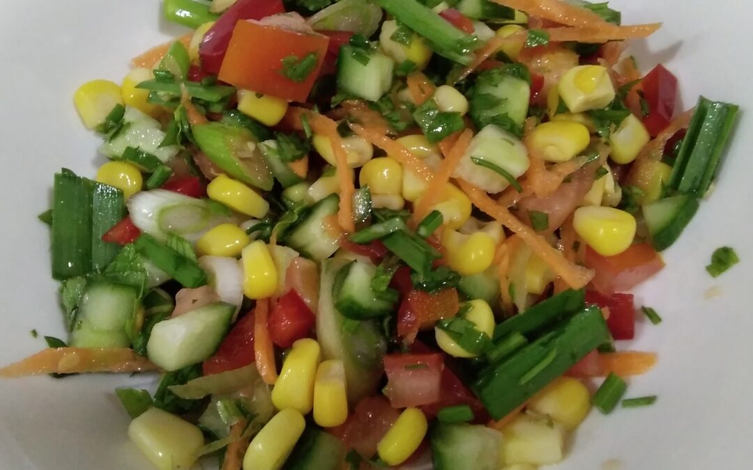 Green Onion and Corn Salad