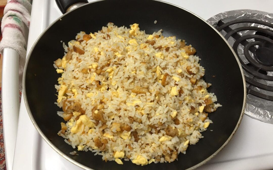 Chicken Nuggets Fried Rice