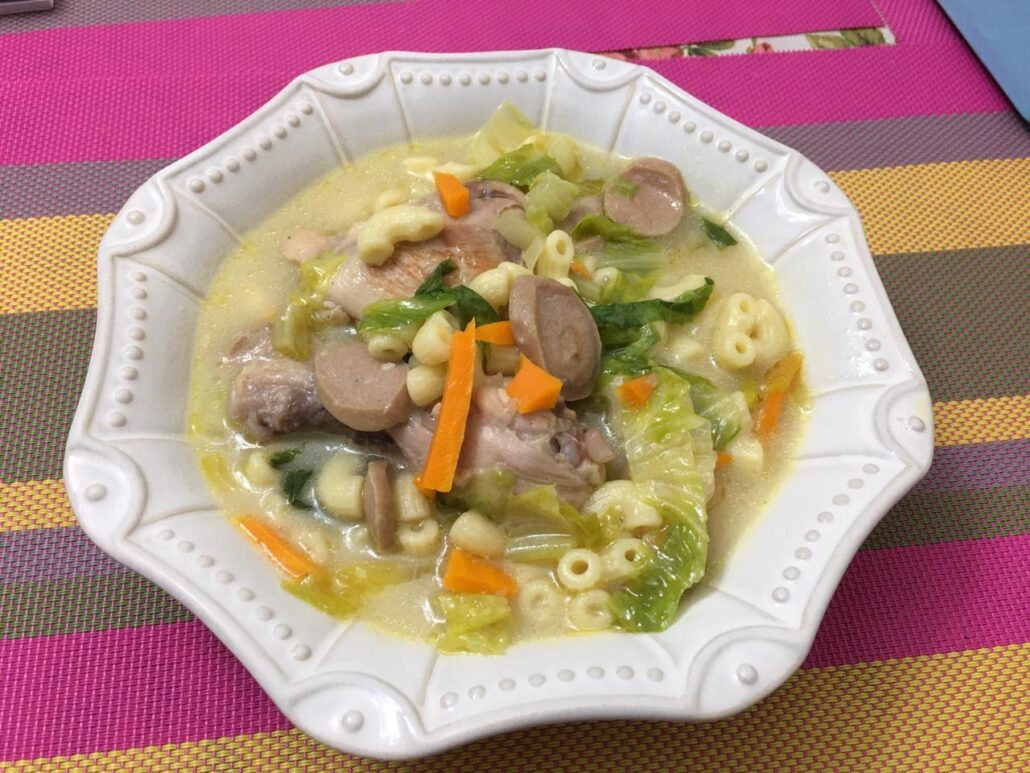 Creamy Pasta and Vegetable Soup